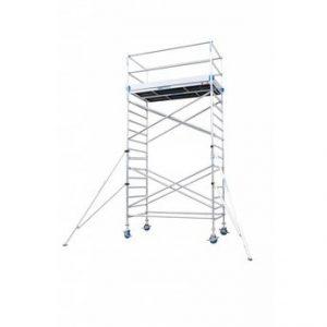 andamio aluminio, andamio plegable de aluminio, torre movil aluminio